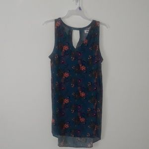 Old Navy floral print sleeveless dress